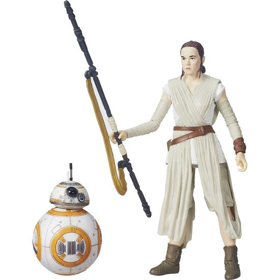 Star Wars: Rey (Jakku) og BB-8 Black Series Action Figur