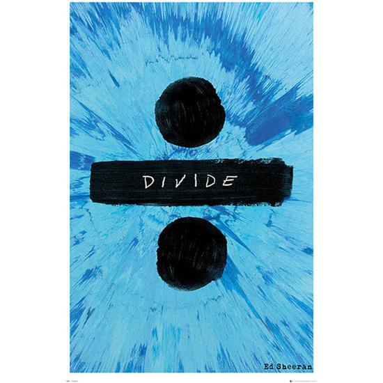 Ed Sheeran: Ed Sheeran Plakat - Divide