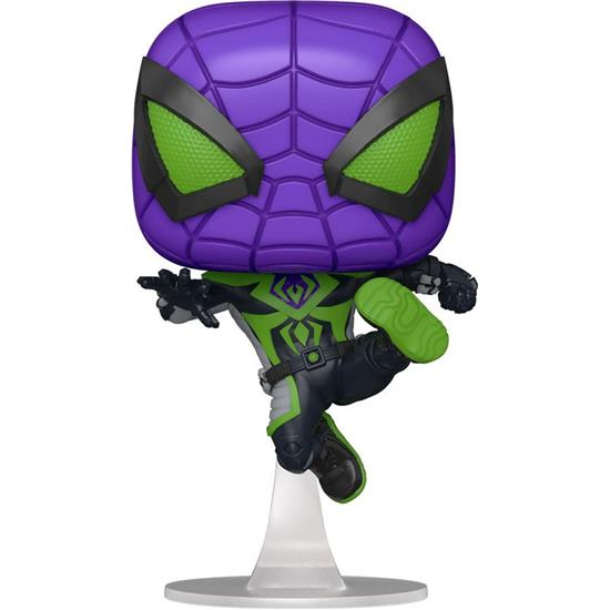 Spider-Man: Miles Morales Purple Suit POP! Games Vinyl Figur