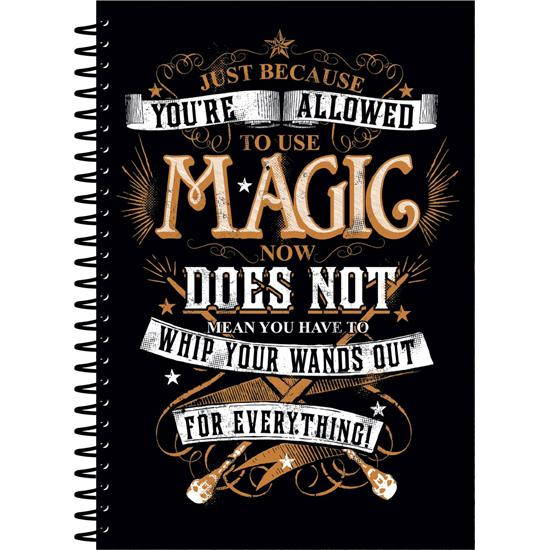 Harry Potter: Harry Potter Notebook A5 Magic