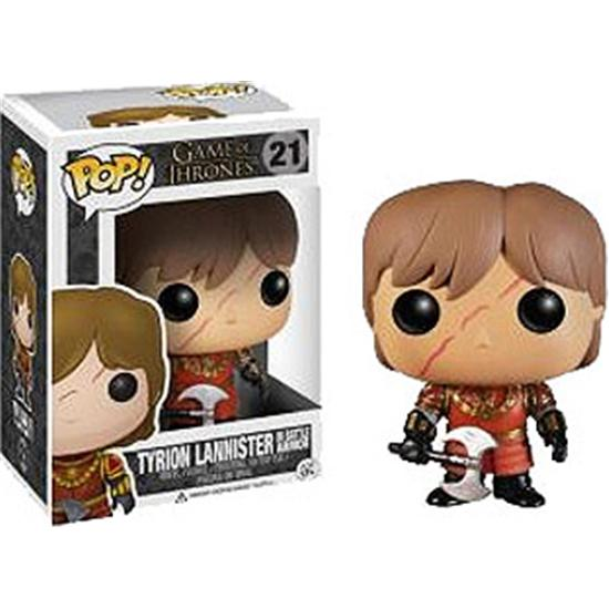 Game Of Thrones: Tyrion Lannister in Battle Armour POP! Vinyl Figur (#21)