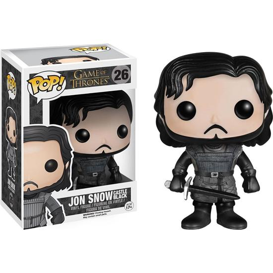 Game Of Thrones: Jon Snow Castle Black POP! Vinyl Figur (#26)