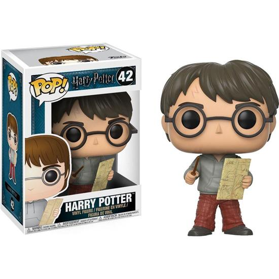 Harry Potter: Harry Potter med Marauders Map POP! Vinyl Figur (#42)