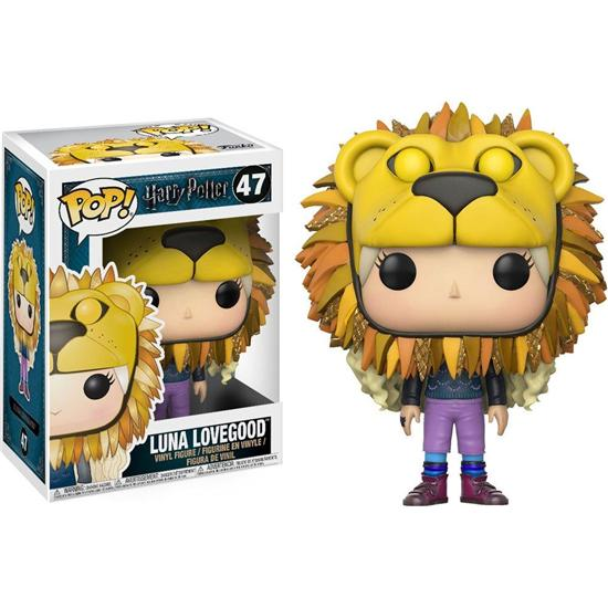 Harry Potter: Luna Lovegood med Løvehoved POP! Vinyl Figur (#47)