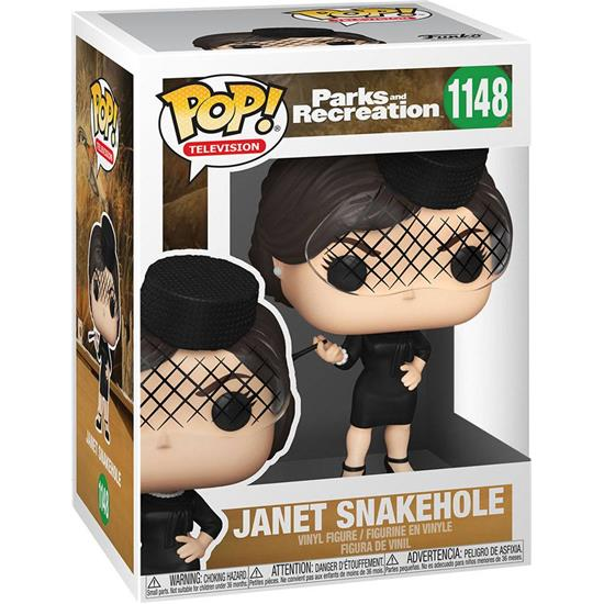 Parks and Recreation: Janet Snakehole POP! TV Vinyl Figur (#1148)