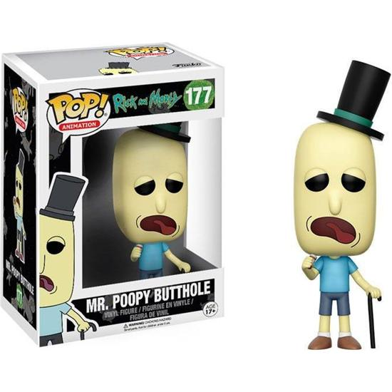 Rick and Morty: Mr. Poopy Butthole POP! Vinyl Figur (#177)