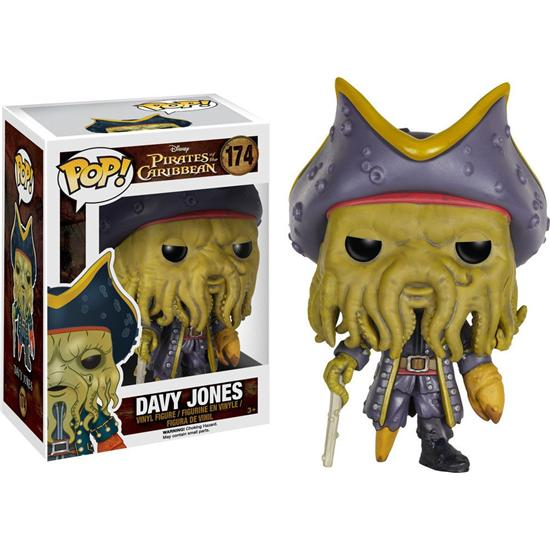 Pirates Of The Caribbean: Davy Jones POP! Vinyl Figur (#174)