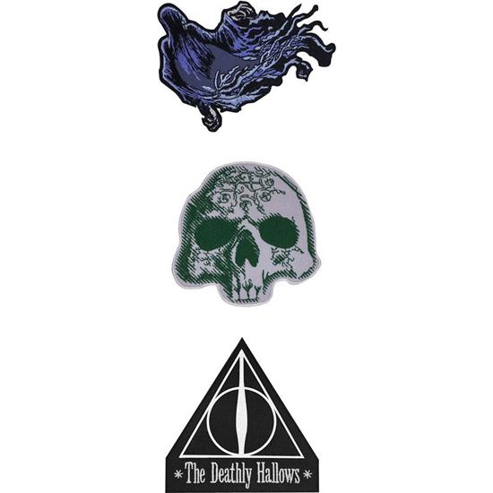 Harry Potter: Patches 3-Pak Deathly Hallows