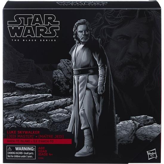 Star Wars: Luke Skywalker Ahch-To Island Black Series Action Figur