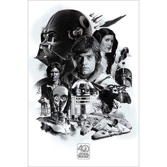 Star Wars: 40th Anniversary Montage Plakat
