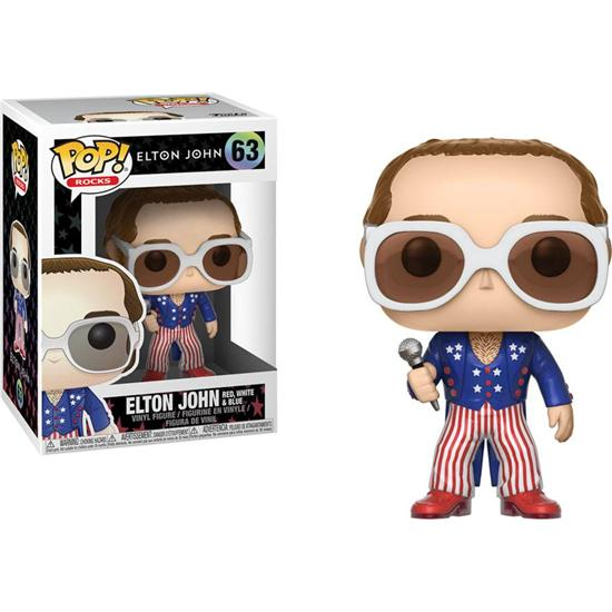 Elton John: Elton John Red, White & Blue POP! vinyl figur (#63)