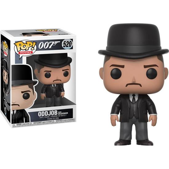 James Bond 007: Oddjob POP! vinyl figur (#520)