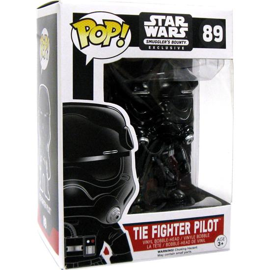 Star Wars: Tie Fighter Pilot (Chromed) POP! Bobble-Head (#89)