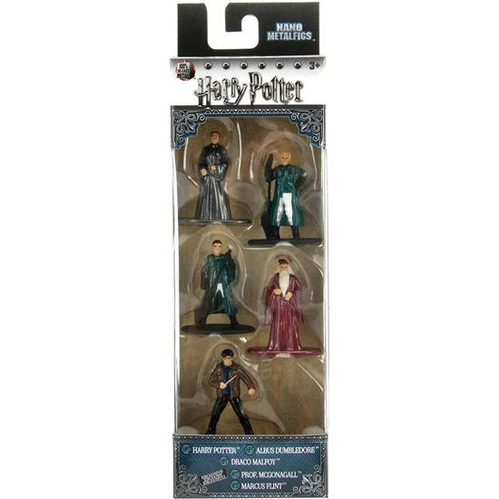Harry Potter: Harry Potter Nano Metalfigs 5-Pak Sæt A