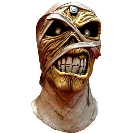 Iron Maiden Eddie Powerslave Mummy Latex Maske