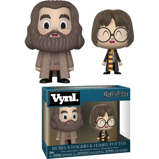 Harry Potter: Harry Potter og Hagrid VYNL Vinyl Figurer 10 cm