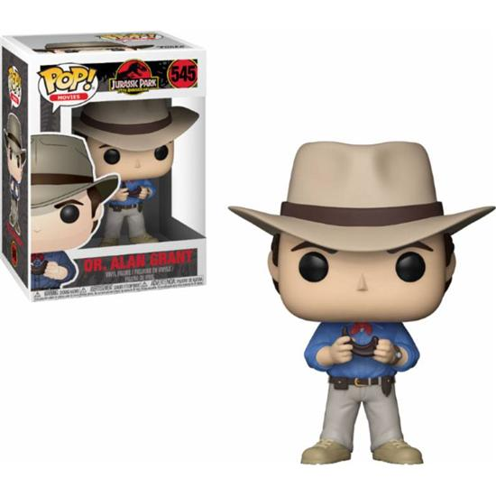 Jurassic Park & World: Dr. Alan Grant POP! Vinyl Figur (#545)
