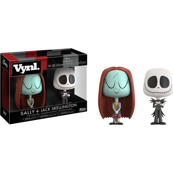 Nightmare Before Christmas: Jack & Sally VYNL Vinyl Figurer 10 cm