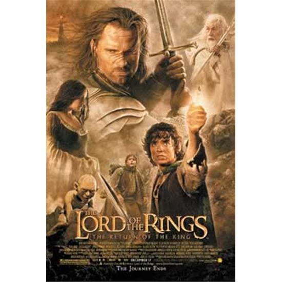 Lord Of The Rings: The Return Of The King - Officiel plakat