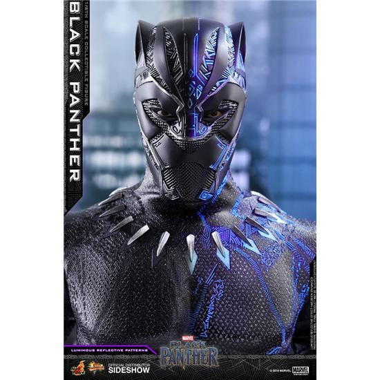 Marvel: Black Panther Movie Masterpiece Action Figur 1/6