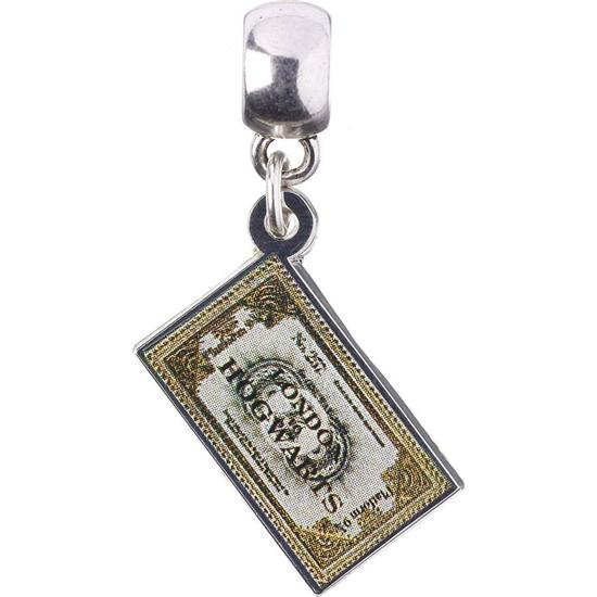 Harry Potter: Hogwarts Express Billet Charm (sølv belagt)