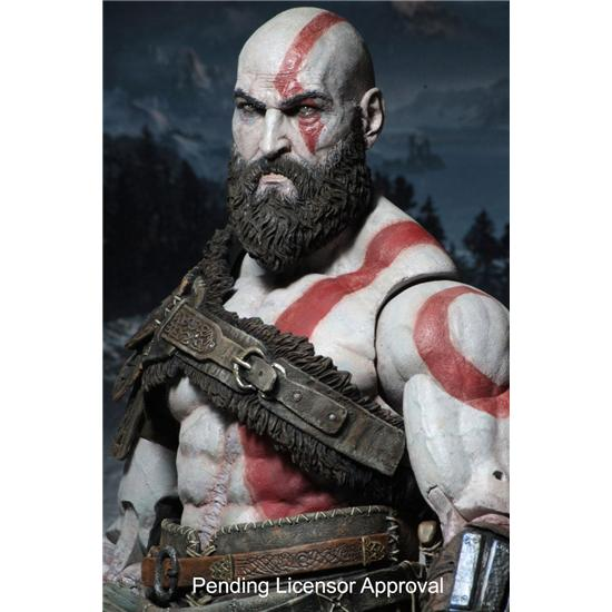 God Of War: Kratos Action Figur 18 cm