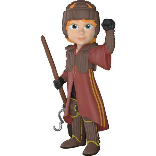 Harry Potter: Ron i Quidditch Uniform Rock Candy Vinyl Figur
