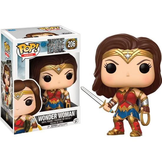 Justice League: Wonder Woman POP! Movie Vinyl Figur (#206)