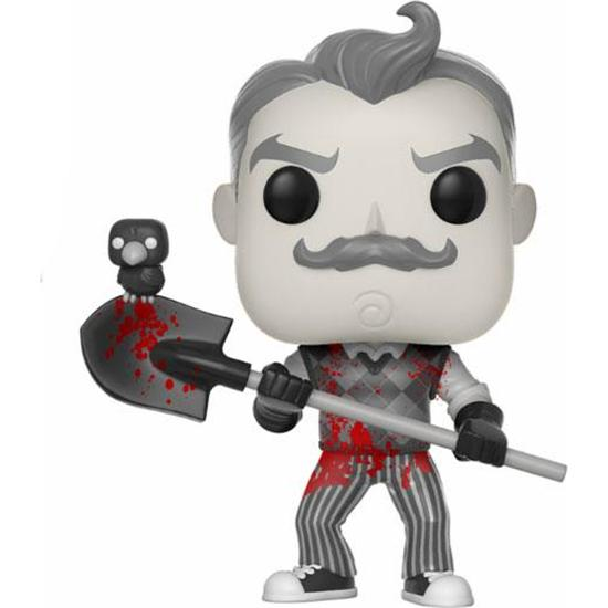Hello Neighbor: Neighbor B&W med Blod POP! Vinyl Figur (#261)