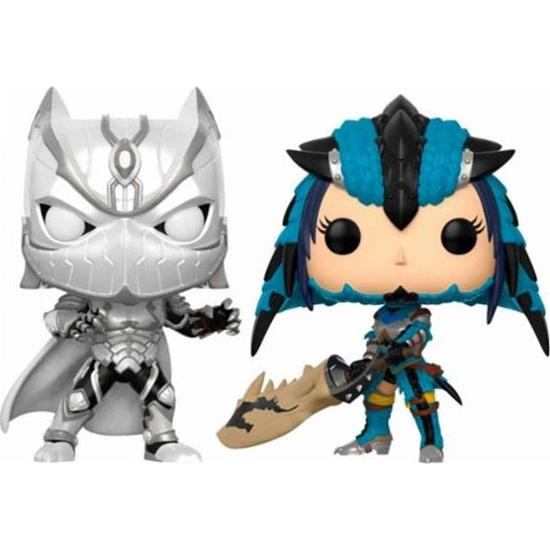 Marvel vs. Capcom: Black Panther vs Monster Hunter POP! Games Vinyl Figur 2-Pak Exclusive