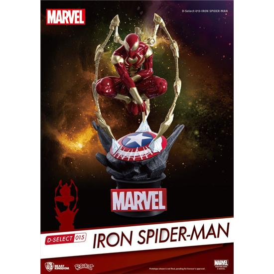 Avengers: Marvel D-Select PVC Diorama Iron Spider-Man 16 cm