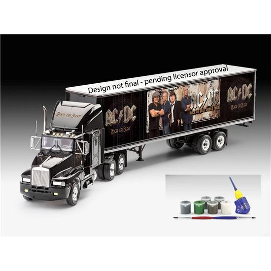 AC/DC: AC/DC Level 3 Model Kit with basic accessories 1/32 Truck & Trailer 55 cm
