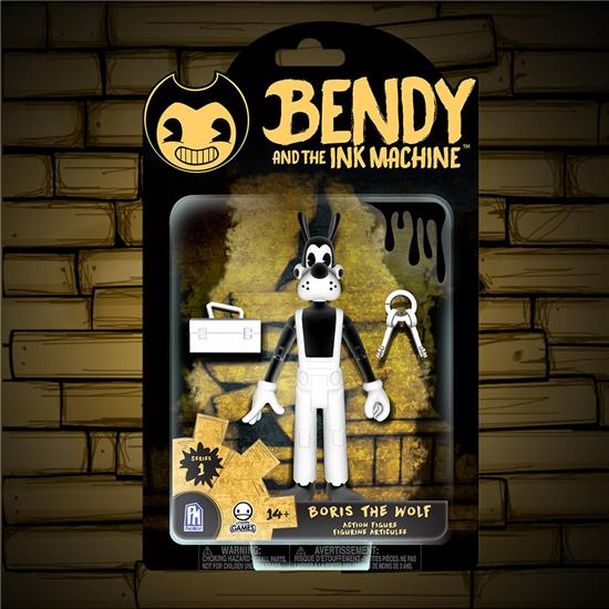 Bendy and the Ink Machine: Boris the Wolf Action Figure