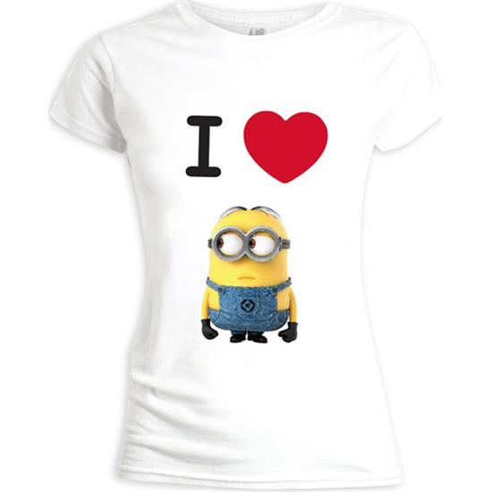 Grusomme Mig: I Love Dave t-shirt (dame model)