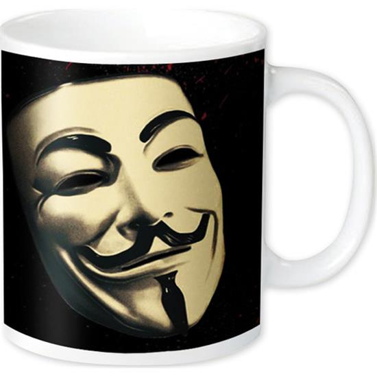 V For Vendetta: Guy Fawkes Mask krus