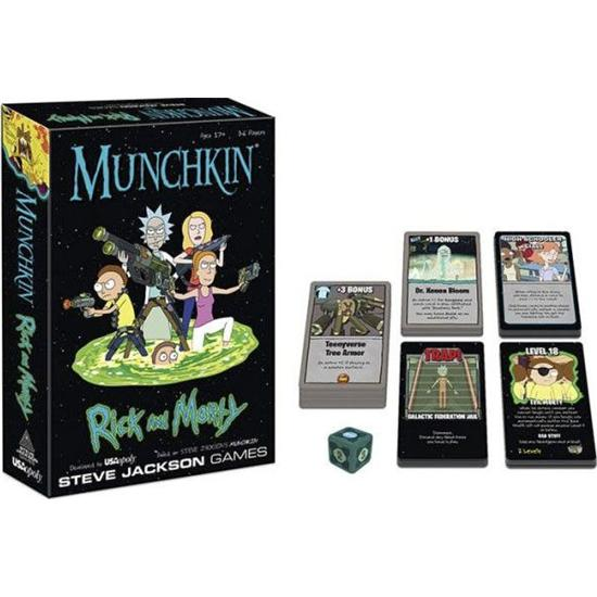 Rick and Morty: Munchkin Card Game Rick and Morty *English Version*