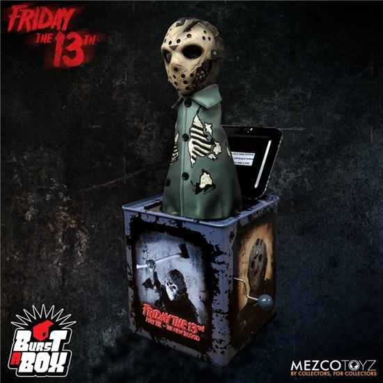 Friday The 13th: Jason Voorhees Burst-A-Box Music Box 36 cm