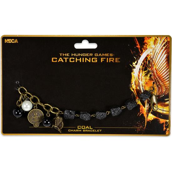 Hunger Games: Catching Fire - Coal Charms armbånd