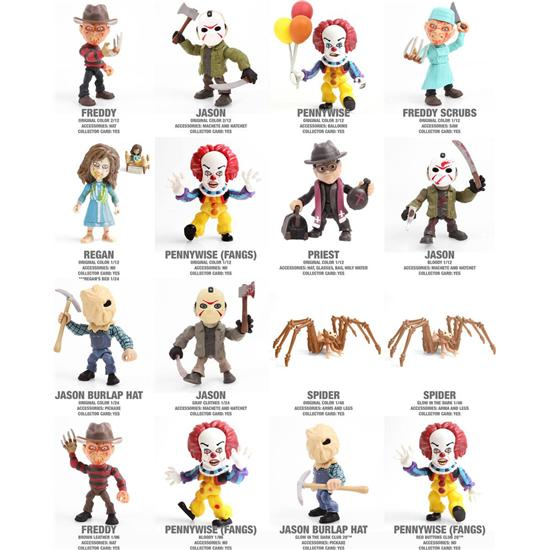 Friday The 13th: Horror Action Vinyl Mini Figures 8 cm
