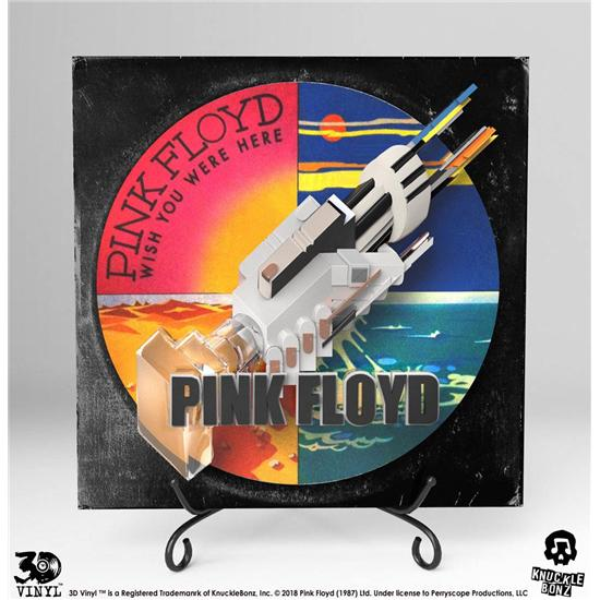 Pink Floyd: Pink Floyd 3D Vinyl Statue Wish You Were Here 30 cm