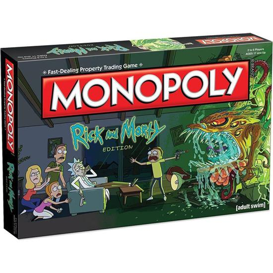 Rick and Morty: Rick and Morty Board Game Monopoly *English Version*
