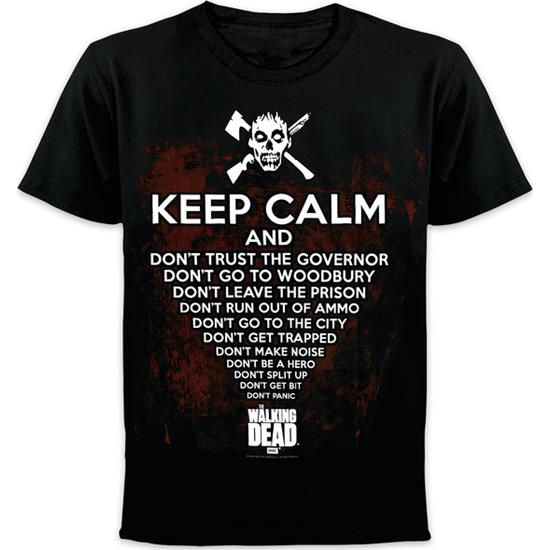 Walking Dead: Keep Calm Spoiler t-shirt
