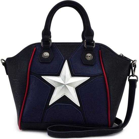 Marvel: Marvel by Loungefly Crossbody Bag Captain America Cosplay