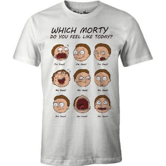 Rick and Morty: Rick and Morty T-Shirt Morty Faces
