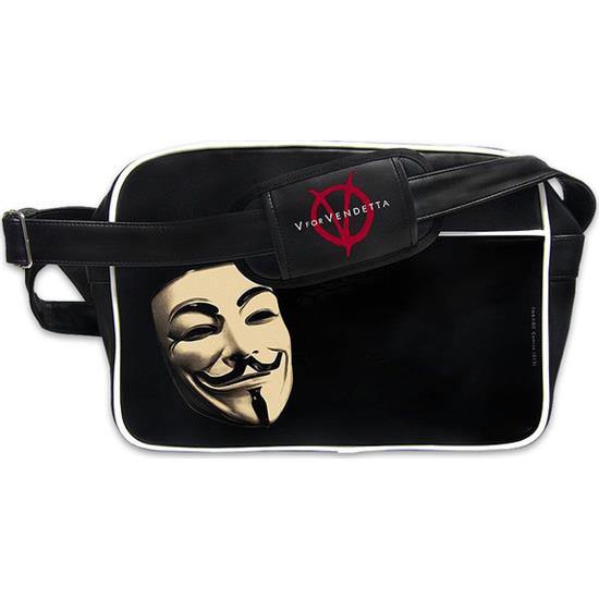 V For Vendetta: Guy Fawkes Skuldertaske