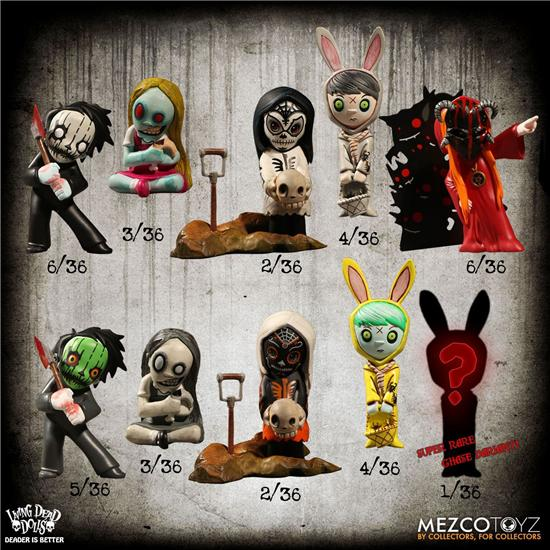 Living Dead Dolls: Living Dead Dolls Collectible Figures Resurection Series 1 5 cm