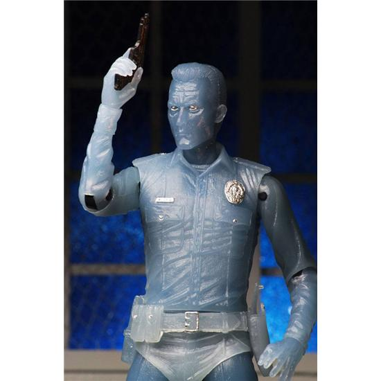 Terminator: White Hot T-1000 Terminator 2 Action Figure 18 cm Kenner Tribute