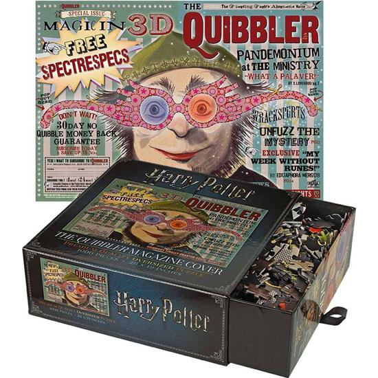 Harry Potter: Harry Potter Jigsaw Puzzle The Quibbler Magazine Cover