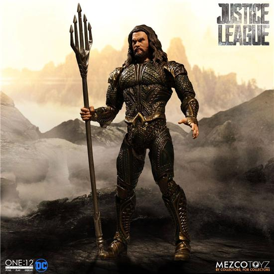 Justice League: Aquaman Action Figure 1/12 15 cm