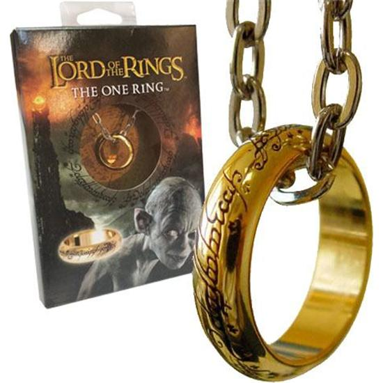 Lord Of The Rings: Lord of the Rings Ring The One Ring (gold plated)